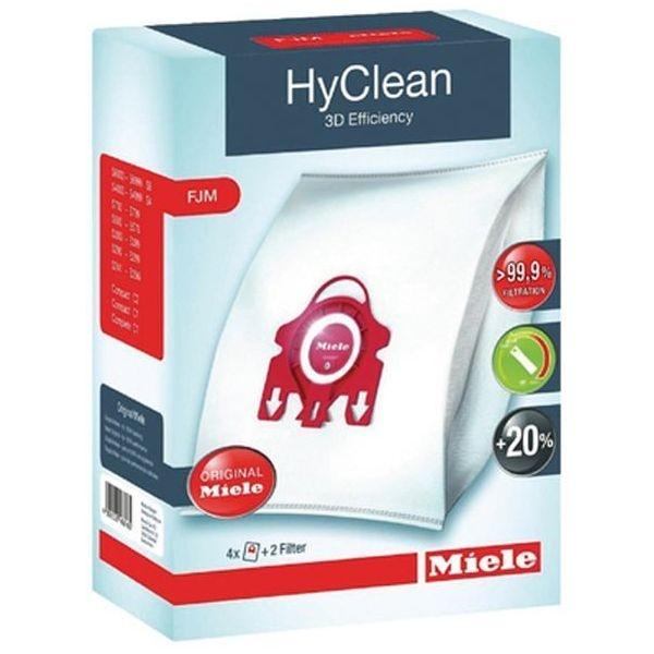 Hedendaags 9917710 - Miele FJM Hyclean 3D Efficiency Vacuum Bags - 4 Pack & 2 IE-94
